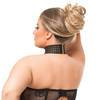 Lovehoney Plus Size Rendezvous Black Studded Open-Cup Body