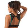Lovehoney Moonlight Green Peekaboo Bra and Garter Panties Set