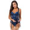 Lovehoney Moonlight Blue Crotchless Plunge Body