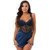 Lovehoney Moonlight Blue Plunge Babydoll Set