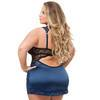 Lovehoney Plus Size Moonlight Blue Plunge Babydoll Set