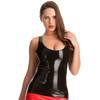 Rubber Girl Latex Low Cut Tank Top