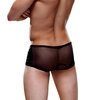 Envy Sequin and Sheer Mesh Boxer Shorts