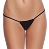Coquette Black Low Rise G-String