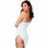 Dreamgirl White and Gold Goddess Costume