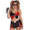 Dreamgirl Red and Black Harlequin Costume