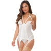Lovehoney Pure Romance Ivory Lace Underwired Basque Set