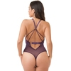 Lovehoney Moonflower Purple Lace Strappy Body