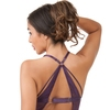 Ensemble guêpière string lanières dentelle Moonflower violet, Lovehoney