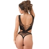 Lovehoney Black Cut-out Deep Plunge Thong Body