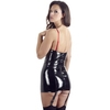 Mini robe avec jarretelles en PVC par Black Level