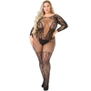 Lovehoney Plus Size All About That Lace Fishnet Bodystocking