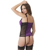 Lovehoney Treasure Me Purple Push-Up Basque Set