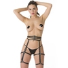 DOMINIX Deluxe Leather Leg Harness