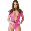 Easy-On Latex Pink Access All Areas Zip Around Teddy