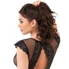 Lovehoney Celeste Black Lace Bustier Set