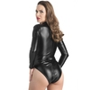 Body wetlook manches longues zip intégral Fierce, Lovehoney