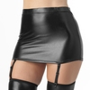 Lovehoney Fierce Wet Look Suspender Skirt