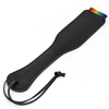 Bondage Boutique Rainbow and Leather Spanking Paddle