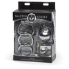Master Series Exile Stainless Steel Locking Chastity Cage