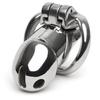 Master Series Rikers Stainless Steel Locking Chastity Cage