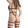 Lovehoney Fierce Wet Look Leg Harness Body
