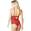Oh La La Cheri Red Lace Teddy