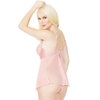 Coquette Light Pink Underwired Babydoll Set