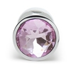 Booty Sparks Pink Gem Jeweled Butt Plug 2.5 Inch