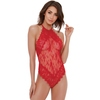 Dreamgirl Red Lace Halterneck Body