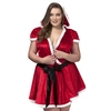 Plus Size Diva Sexy Santa Hooded Wrap Dress