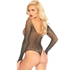 Leg Avenue Glitter Fishnet Teddy