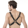DOMINIX Deluxe Leather Cross-Body Harness