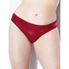 Coquette Red Wet Look Thong