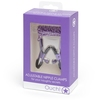 Metallic Purple Adjustable Nipple Clamps