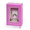 Metallic Pink Adjustable Nipple Clamps