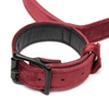 Bondage Boutique Ruby Velvet Wrist to Thigh Restraint