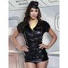 Baci Lingerie Wet Look Mile High Club Costume