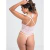 Lovehoney Late Night Liaison Ouvert-Body (rosa)