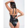 Lovehoney Fierce Leather-Look Lace-Up Body