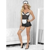 Escante Sheer French Maid Costume (5 piece)