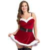Miss Santa Red Velvet Dress