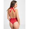Lovehoney Christmas Pom-Pom Red Sheer Body