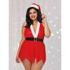 Dreamgirl Plus Size Red Santa's Helper Chemise Set