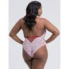 Lovehoney Plus Size Sweetheart White Heart Pattern Body