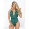 Escante Green Lace Deep Plunge Body