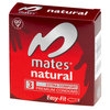 Mates Natural Condoms (3 Pack)