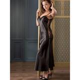 Full Length Satin Chemise