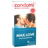 Condomi Max Love Delay Condoms (10 Pack)