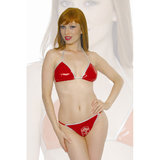 Playgirl Red Hot PVC Bikini